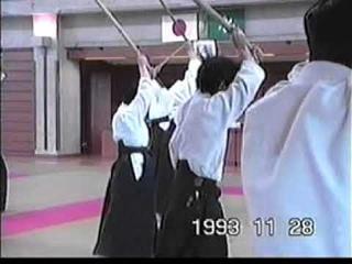 Saito Morihiro 9°Dan Shihan's Aiki no Ken  in Tohoku Ⅲ Nostalgia