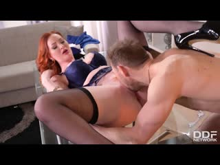 Zara Durose - MILF In The Middle [All Sex, Hardcore, Blowjob, Redhead, Anal, Double]