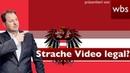 Polit Beben in Österreich Ibiza Video von Strache illegal RA Christian Solmecke klärt auf