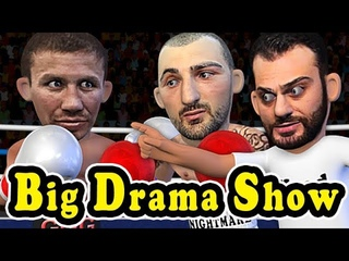 Gennady Golovkin GGG retain his Big Drama Show Belts VS Vanes Head Movement