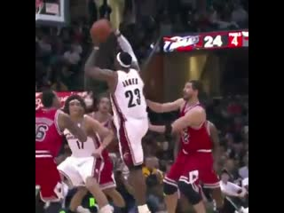 Today marks a decade since one of King James' most VICIOUS poster dunks