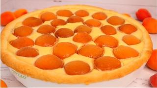 Он ЗАМЕНИЛ Нам ТОРТ! ПРОЩЕ ПРОСТОГО – Абрикосовый пирог с Заварным кремом  | Оливьедка