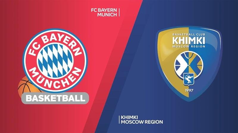FC Bayern Munich Khimki Moscow Region Highlights Turkish Airlines EuroLeague RS Round 12 Евролига Обзор Бавария Химки