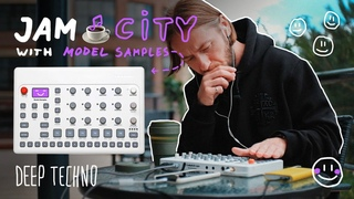 Deep Techno 🌲 JAM CITY with @Elektron Model Samples 🙂