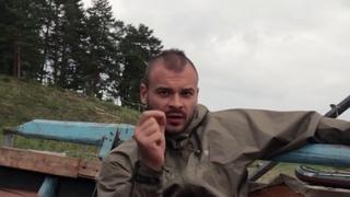 Максим Тесак Марцинкевич отдыхает на Байкале