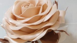 МК Роза прикроватный светильник/DIY MK rose bedside lamp from izolon