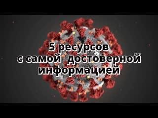 Достоверная информация по коронавирусу