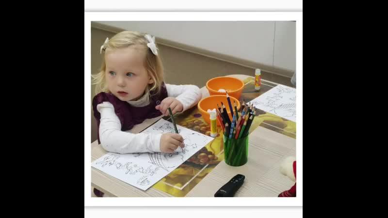 Первые шаги в математику на занятии по комплексному развитию