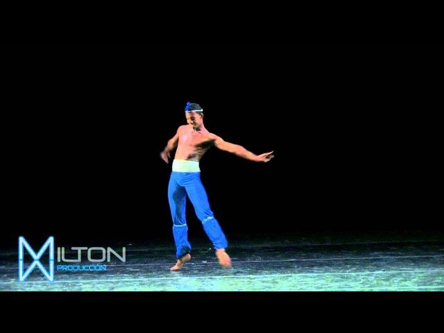 Osiel Gounod en Corsario Danza en América