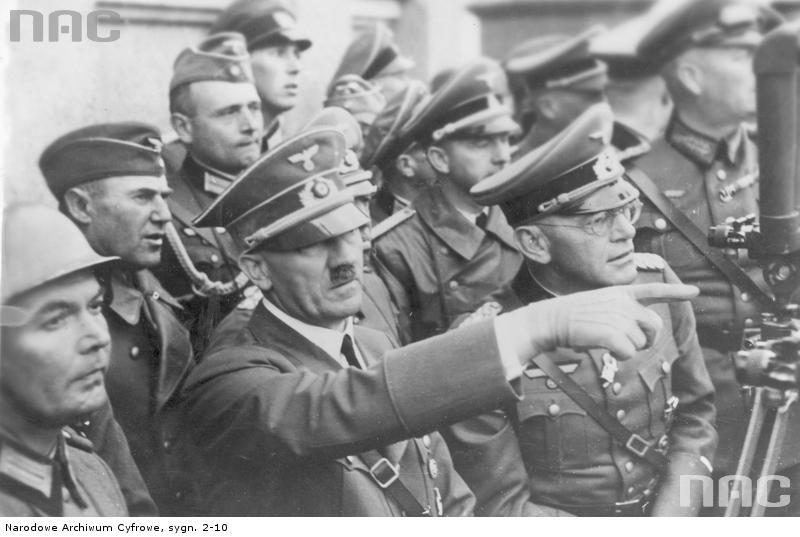 Фюрер в Польше