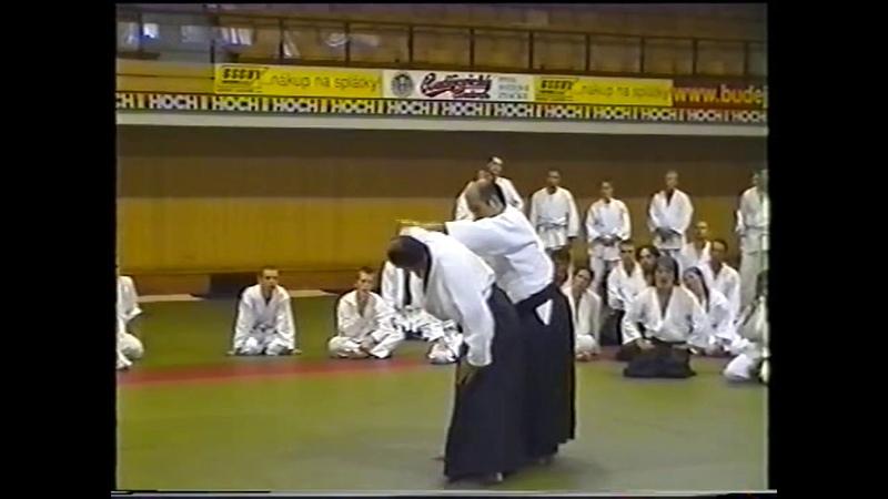 IKEDA Masatomi sensei Ceske Budejovice Czech republic 7 2001 2