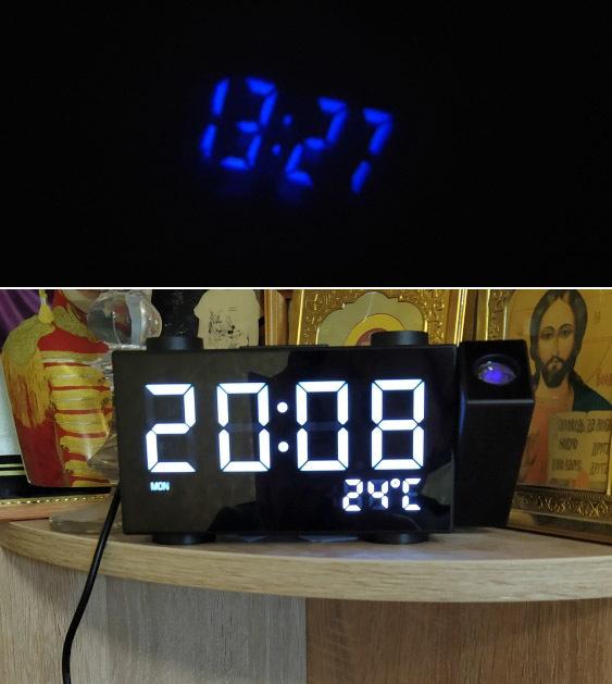 Проекционный будильник -
