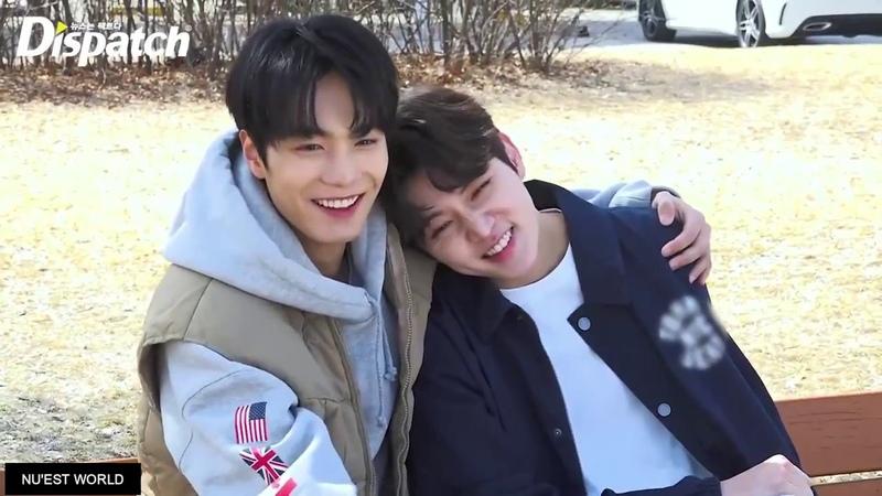 Nu'est JREN JR just wants to touch Ren anywhere