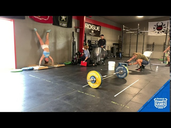 Tia Clair Toomey Event 3 Damn Diane 2020 CrossFit Games