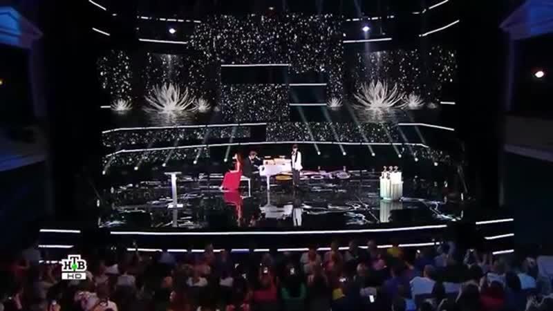 Выступление Алексея Воробьёва Дианы Анкудиновой и Карины Исмаиловой на церемонии награждения ТЭФИ KIDS 2019