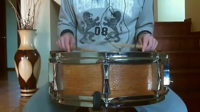Малый барабан 14x5 \ шестислойный бук \ beech snare drum