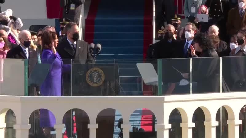 Камала Харрис вступила в должность вице президента США