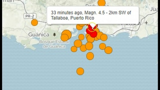 Puerto Rico Hammered By Another Strong M6+ Earthquake and Swarm