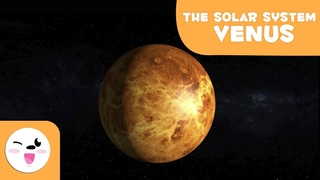 Venus, the Planet of Love - Solar System 3D Animation for Kids