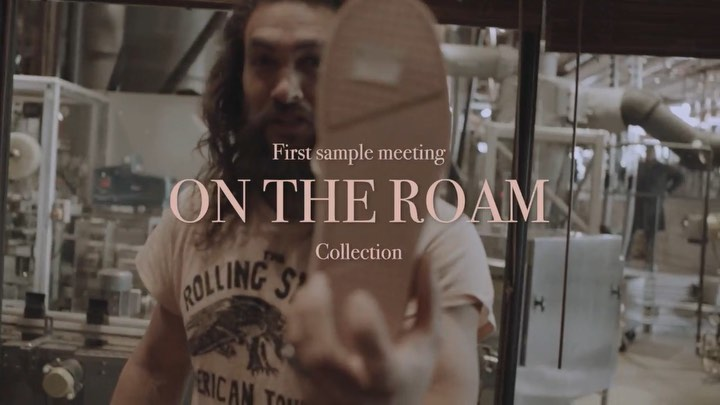 """Jason Momoa on Instagram: """"Behind The Roam Next week you will get to see a behind the scenes look at my first ever collection of bags and shoes de..."""