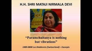 """1989-0808 «Парамчайтанья - это не что иное, как вибрации» """"Paramchaitanya is nothing but vibrations"""" (Subtitles)"""