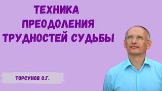 Торсунов О.Г.  Техника преодоления трудностей судьбы