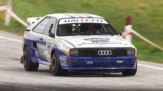 Audi Quattro A2 Rally Group B: 5-Cylinder Engine & Turbo Sound!