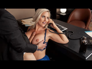 Alena Croft - She's A Smooth Operator  [2020 г., Average Body, Big Ass, Big Tits, Blonde, Blowjob (POV)]