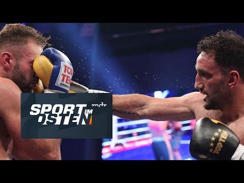 Boxen Karo Murat gegen Dominic Bösel Sport im Osten MDR