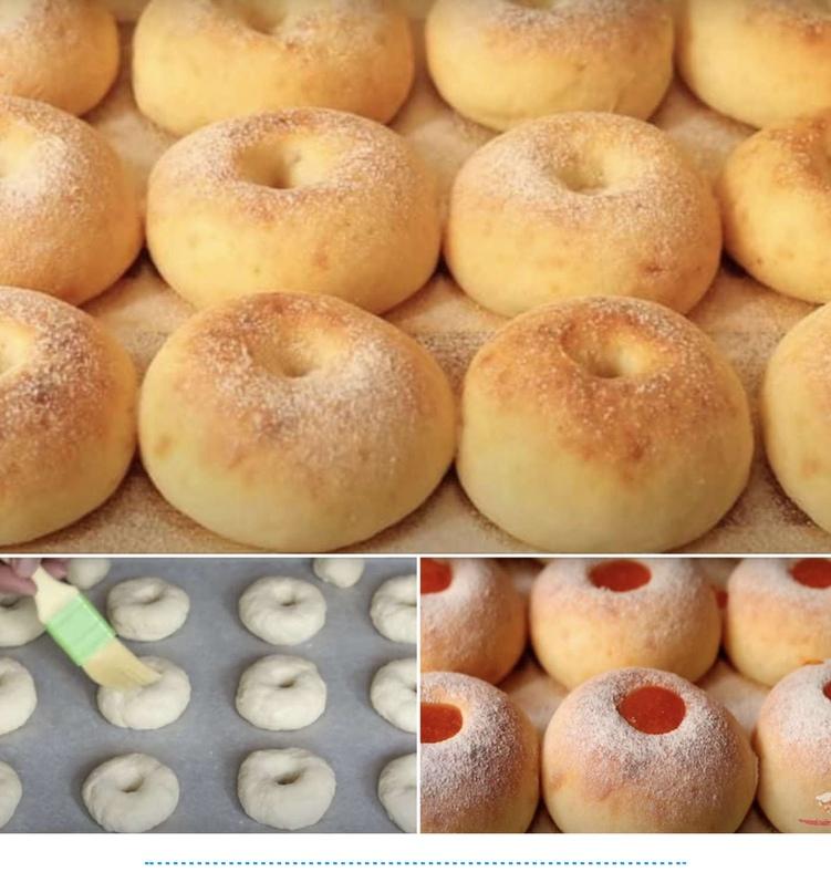 Творожные пончики в духовке - вкуснее рецепта не найти!!