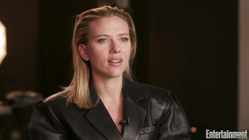 Scarlett Johansson is back in black as Marvel's superspy 'Black Widow'