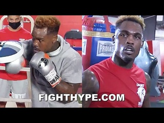 JERMELL CHARLO FULL MEDIA WORKOUT FOR JEISON ROSARIO SHOWDOWN; LOOKING FEROCIOUS & READY FOR WAR