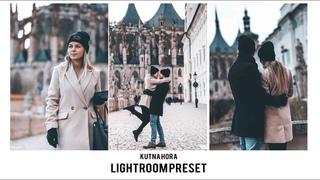 LIGHTROOM   PRESET   KUTNA HORA   SONY a6300   Instagram   Color grading   Cinematic preset