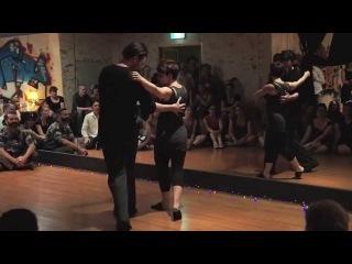 Mark Carpenter & Kelly Howard - Fusion Improv Dancing at Sydney Blues 2015