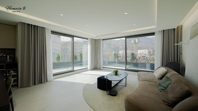 우아한 인테리어 프라이빗한 가든하우스 Elegant interior house