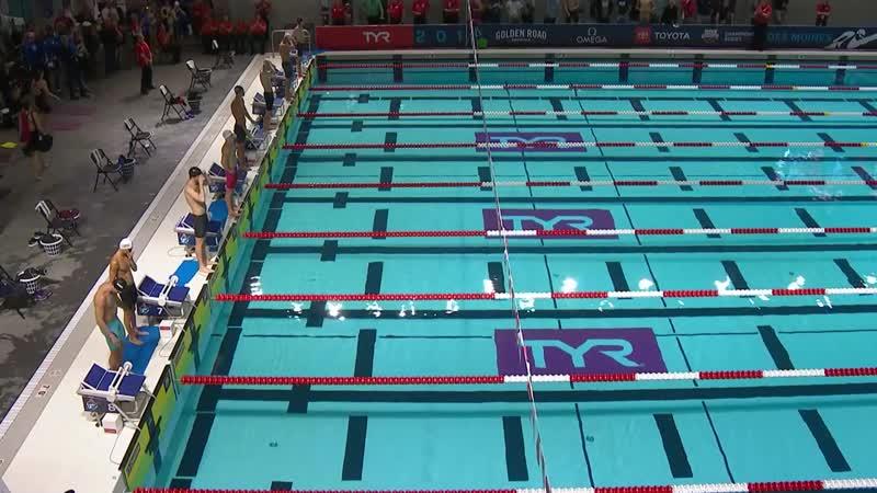 Men's 50m Back A Final _ 2019 TYR Pro Swim Series – Des Moines