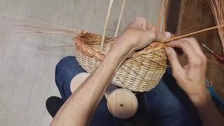 Плетеная коляска для кукол из лозы BONIA. Петр Петрушенко WillowClub