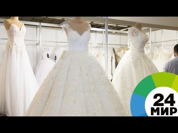 Дизайнеры из СНГ показали в Петербурге свадебные тренды МИР 24