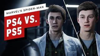 Marvel's Spider-Man Comparison: PS4 2018 vs. PS5 Remaster 2020