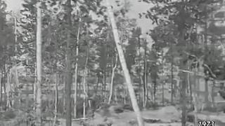 Писатели проездом в Горноправдинске 1973 год. Писатели на Оби и Иртыше