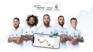 easyMarkets Enters 3 Year Deal With Real Madrid C.F.! #RealMadrid