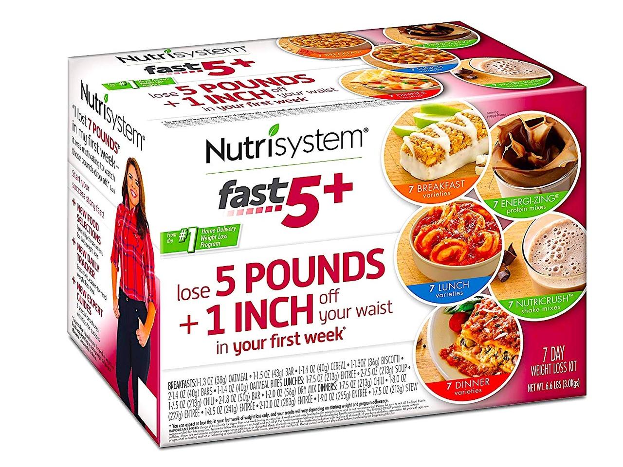 Обзор Потери веса с Nutrisystem