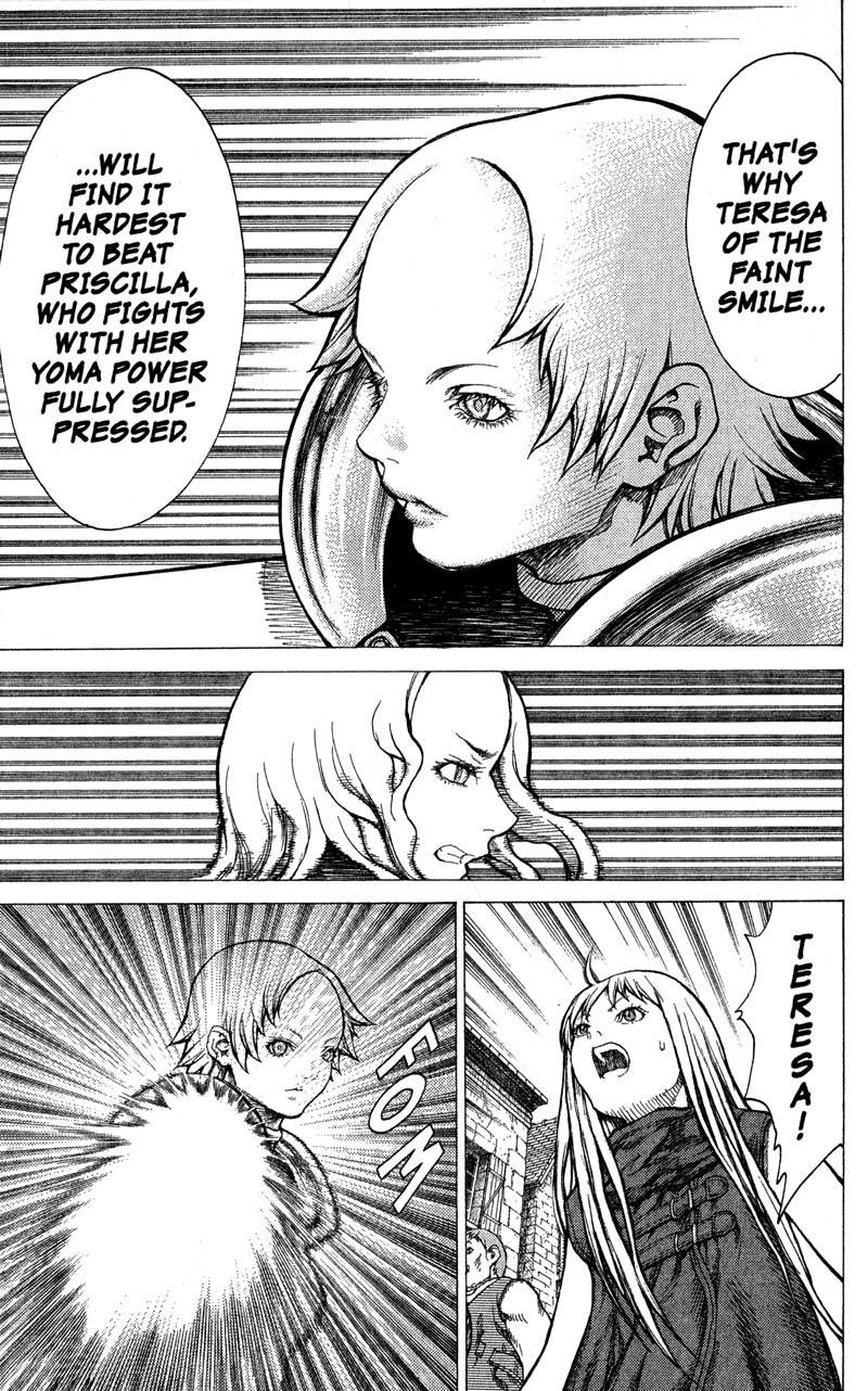 Claymore, Chapter 20, image #16