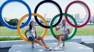 Первая неделя в Олимпийской деревне, тренировки и церемония окртыия в Токио