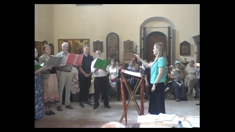 4 Дарья Усова с певчими своего хора