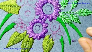 Exclusive Embroidery Design, Alternative Embroidery, Embroidery art, Hand Embroidery Quilt-213