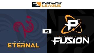 Paris Eternal vs Philadelphia Fusion   Hosted by Washington Justice   Day 2