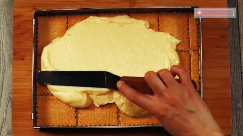 """Пирожное """"Шедевр"""" без выпечки - самый нежный и быстрый десерт, без лишних хлопот"""