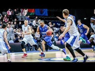 Tsmoki-Minsk vs Enisey Highlights March 25, 2017