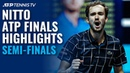 Djokovic v Thiem Nadal v Medvedev | Nitto ATP Finals 2020 Semi-Final Highlights!